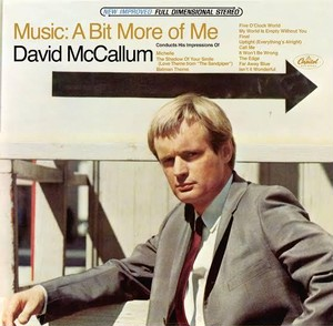 DAVID MCCALLUM  / MUSIC: A BIT MORE OF ME (CD)