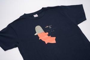 イトウ Tシャツ(ネイビー・Sサイズ)【EC12007】