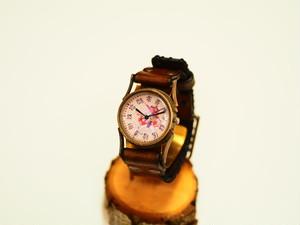 【限定】戦国武将の文字盤腕時計