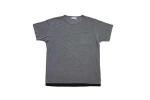 EACHTIME. PILE T-SHIRT GY/BK