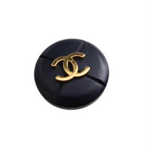 【VINTAGE CHANEL BUTTON】ココマーク ゴールド ネイビー ボタン 1.8mm