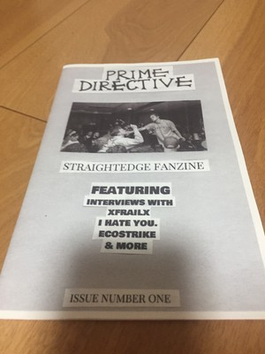 Prime Directive Zine Issue 1