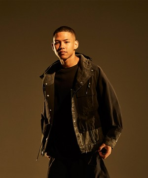 Cross Over Mountain Jean Jacket -black <LSD-BJ1B1>