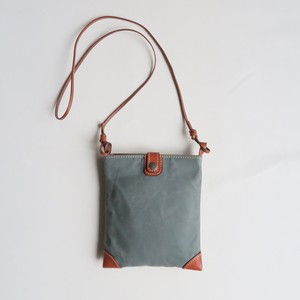 Paraffin canvas mini pochette KHAKI