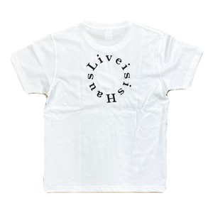 """LIVE is Is Haus """"3 Color"""" Circle Logo Tee"""