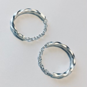 twilo chain ring Silver×Silver M2