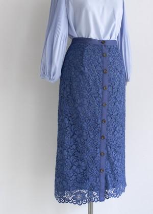 デイジーレーススカート/ブルー No.98784736/95