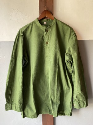 swedish military M55 70's80's remake pull over shirt