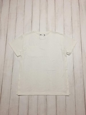 side binder short sleeve shirt / offwhite