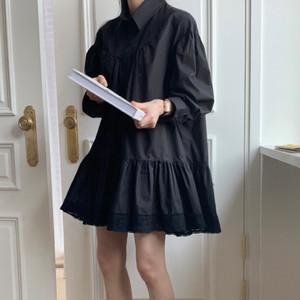 ドーリーステッチシャツドレス U5470