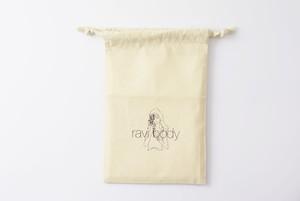ravi ×  オリジナル巾着 【H260 × W160】