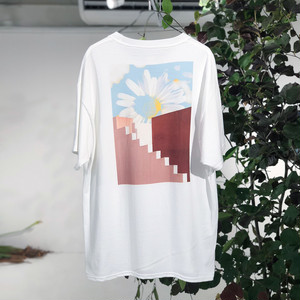 "Print Tee""Skyflower"""