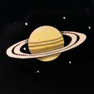 大型スライド(木製と土星)