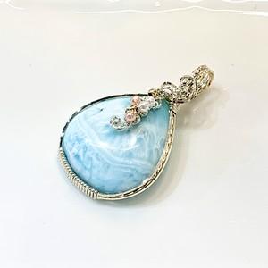 天然石:ブルーアラゴナイト 14kgf