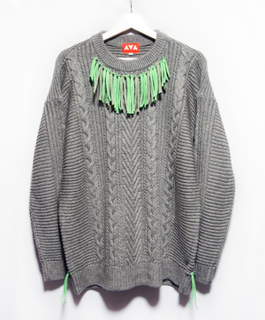 Fringe remake sweater