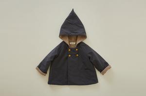 eLfinFolk(エルフィンフォルク)/elf coat charcoal gray (90/100)