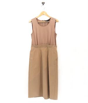 SACRA / BI-MATERIAL DRESS