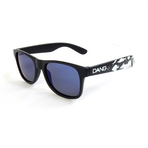 LOCO Black Matte X Blue Mirror Polarized with FISHING (vidg00324)