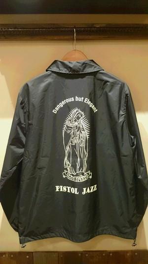 PISTOL JAZZ/god spreed Coach Jacket col.BLK