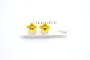 有田焼ノンホールピアス flower 14