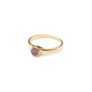 SINGLE PETIT STONE NON-ADJUSTABLE RING 071