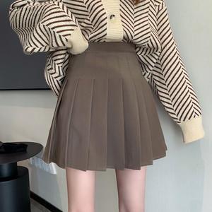 Aラインプリーツスカート D2076