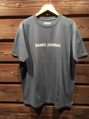 Banks Journal  Lavel Tee Shirt  ATS0481  Teal  Lサイズ