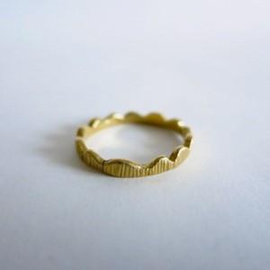 Crown Ring Brass
