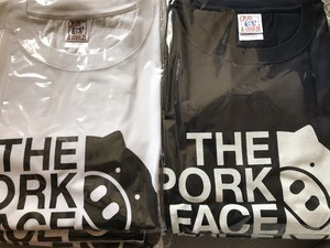 【5L/6L】ロゴ大 半袖Tシャツ(ネイビー/ホワイト)