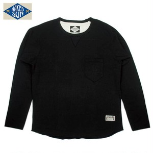 NS003005 MINI-URAKE FREDOM SLEEVE L/S / BLACK