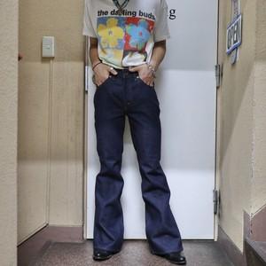 """Levi's """"507"""" bell-bottom denim pants"""