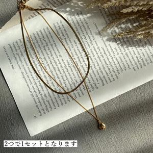 twins necklace(3/17na-18)