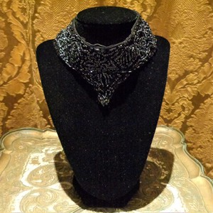 Vintage beads false collar ヴィンテージビーズ付け襟