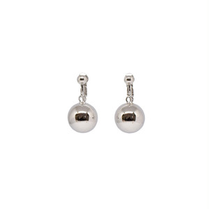HOLLOW BALL EARRINGS