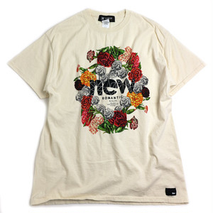 TONBOW の NEW ROMANTIC TEE -CREAM-