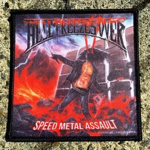 """Speed Metal Assault"" プリントパッチ"