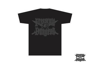 フリースタイルダンジョン オリジナルTシャツ(BLACK / BLACK)