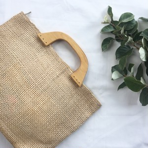 Wood Handle Bag