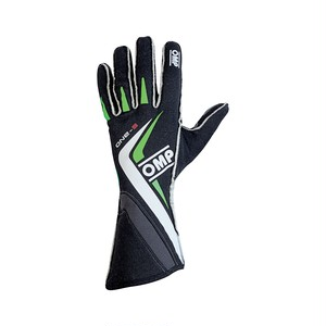 IB/755E/NV ONE-S GLOVES BLACK/FLUO GREEN