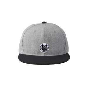 "hntbk baseball cap ""ROCKSTEADY"" GRAY 1"