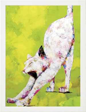 Art Flame Poster  [ Neo_2015_白猫 ]