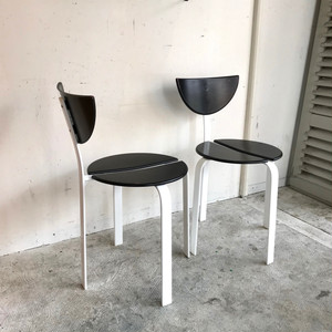 Postmodern Style Stacking Dining Chair オランダ 1980's