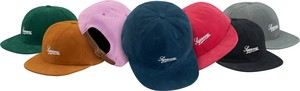 Supreme Brushed Twill Script 6-Panel Cap
