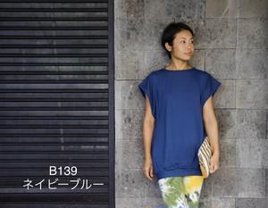 B139 ネイビーブルー 【トップス】