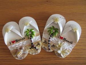 I♥Hawaii マグネット雑貨 ビーチサンダル
