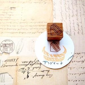 ツメサキの世界 手彫りはんこ「パンのなまえ」②