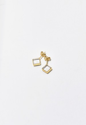 water square pierce Gold
