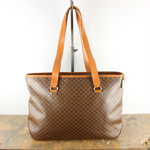 .OLD CELINE MACADAM PATTERNED TOTE BAG MADE IN ITALY/オールドセリーヌマカダム柄トートバッグ 2000000040707