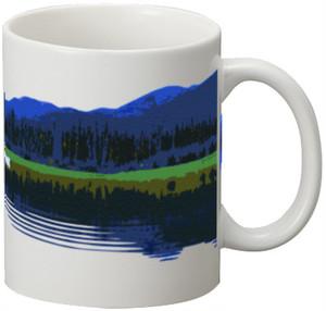 陶器マグカップ カナダ・ユーコン川