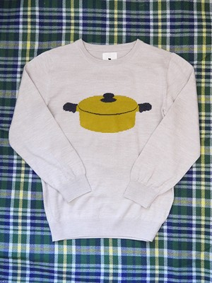 TANUKIのお鍋セーター | Pot Sweater